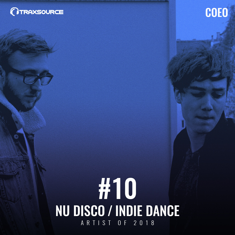 Traxsource Top 100 Nu Disco / Indie Dance Artists of 2018