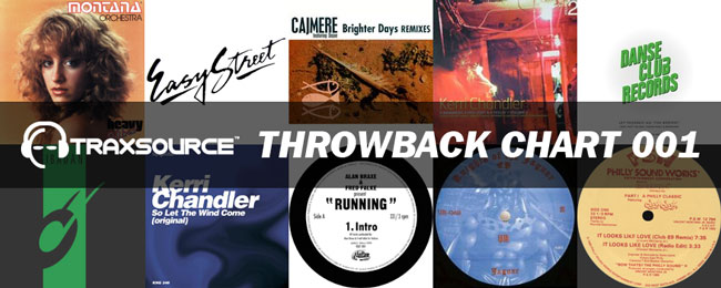Check out Traxsource Throwback Chart 001!