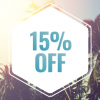 15% Off ALL Music